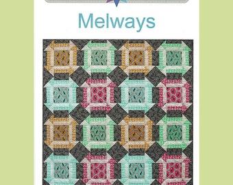 MELWAYS -  Quilt Pattern - by Australian Designer Emma Jean Jansen