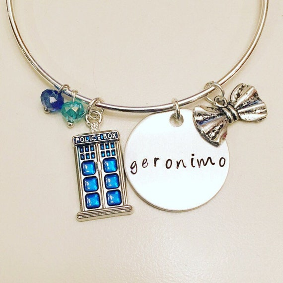 Geronimo Charm Bracelet | Doctor Who Gift Guide