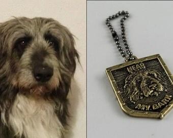 CUSTOM Dog/Cat Key Chain