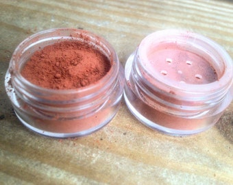 roots eyeshadow and blush combo |