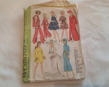McCall Pattern 2123 for Doll Clothes