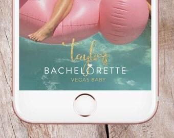 Vegas Bachelorette Snapchat Filter