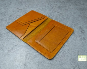 Leather passport wallet passport case passport holder passport covers leather travel wallet passport holder with card slots