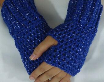 Fingerless Gloves - Crochet Wrist Warmers
