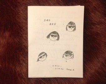 SAD BAD mini zine