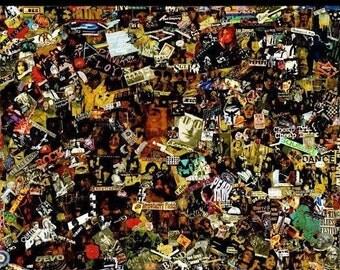 Rock-N-Roll Collage - Medium 37x48