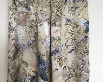 Silk skirt 01