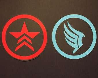 Renegade and Paragon Decals