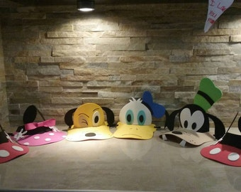Mickey Mouse and Friends  Hat/ Eva Foam Visors