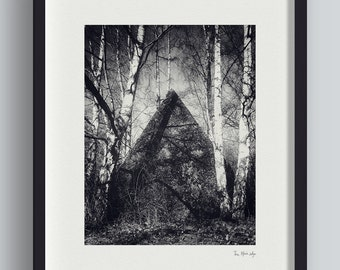 The Black Lodge – Forest Photo Print