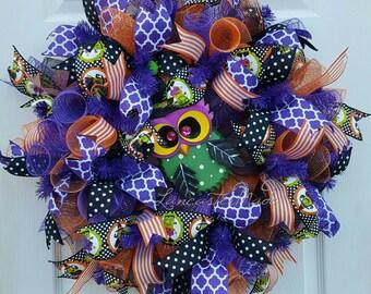 SOLD! Halloween Owl