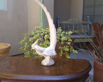 Pink 50's Pheasant Figurine