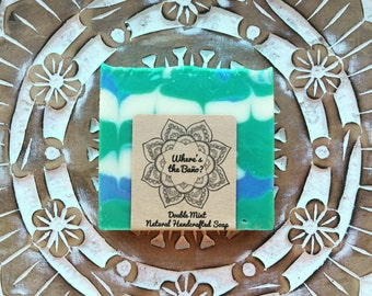Double Mint Natural Handcrafted Soap