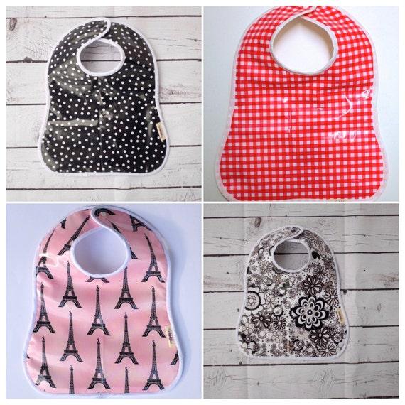 Baby bibs/Unisex/Baby Animal Bib/Baby Shower Gift/Waterproof Bib/Laminated Cotton/Waterproof feeding bibs/Wipe clean and washable