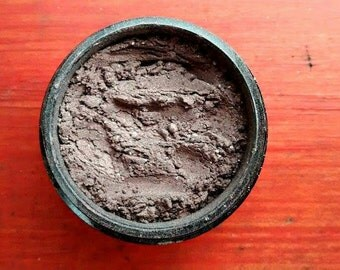 Mineral Eyeshadow, mineral makeup, Eyeshadow, natural makeup, full size, Color - Cappuccino
