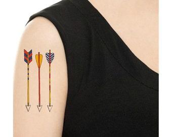 Temporary Tattoo - Vintage Arrows