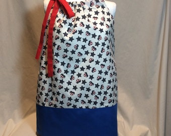 Fourth of July Pillowcase Dress