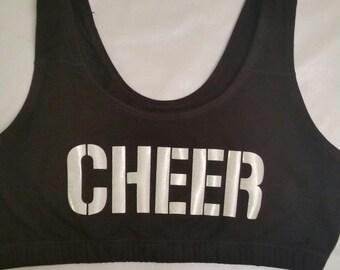 Custom Cheerleader Sports Bra