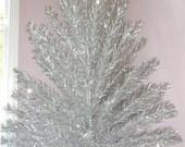Aluminum Christmas Tree Vintage 7'