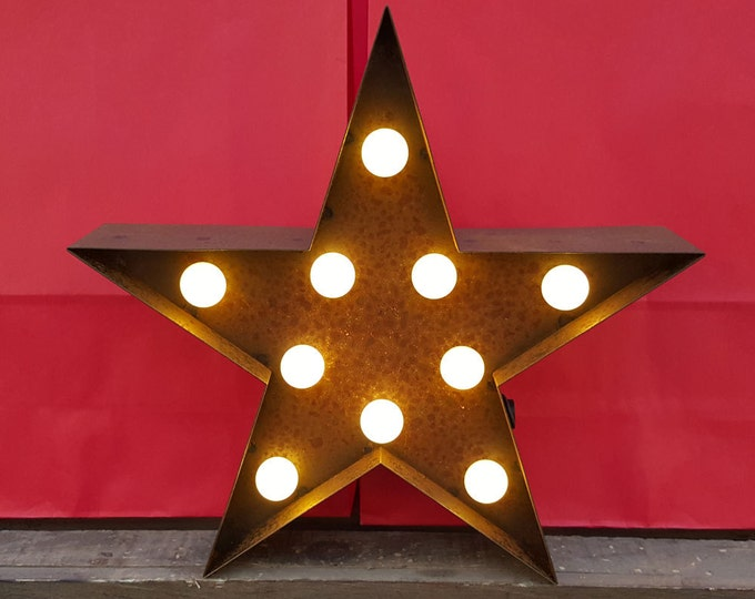 Featured listing image: 9 Inch LED Light - STAR - Various Colours