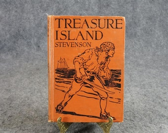 Treasure Island By Robert Louis Stevenson C. 1924.