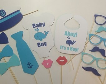 Whale of a Time!/ Baby Whale Shower/ Baby Boy Whale/ Baby Girl Whale/Whale Shower/Teal Aqua Blue Baby Shower/Whales/Nautical Shower/Party