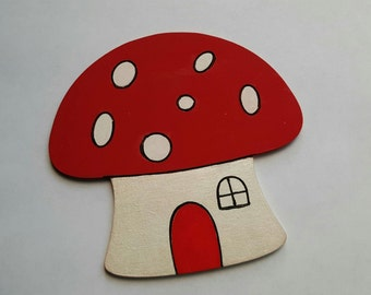 4mm Thick Mystical Fairy Toadstool.