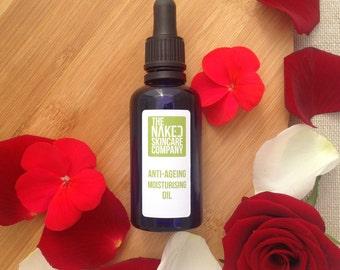 Facial Moisturising Oil//Natural Skincare//Skin Smoothing//Jojoba Oil//Essential Oils//Aromatherapy