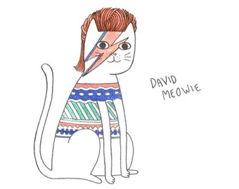 DAVID MEOWIE - print