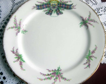 Royal Stafford by Thomas Poole MACPHERSON Tartan Series Bone China Salad Plate - ca 1960