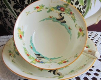 Radfords Fenton Works 4883 Bone China Tea Cup and Saucer