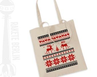 Tote bag norway pattern