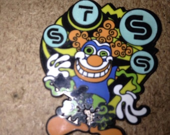 Sound Tribe Clown hat pin