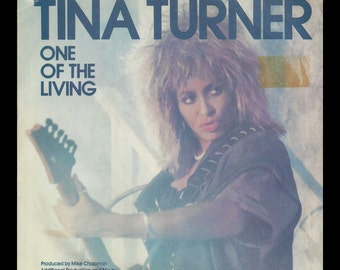 One of the Living 1985 Tina Turner 45 Record Mad Max Beyond Thunderdome