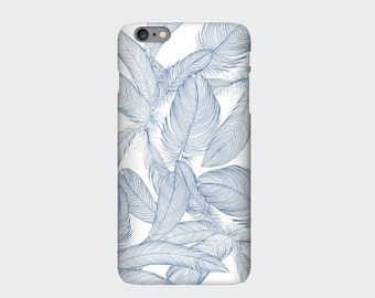 Feathers iPhone 6s, 6, 6s Plus, 6 Plus, 5s, 5c, 4s Case. Designed by Cat Sims