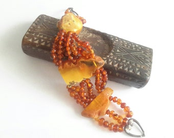 Baltic natural yellow Amber Bracelet