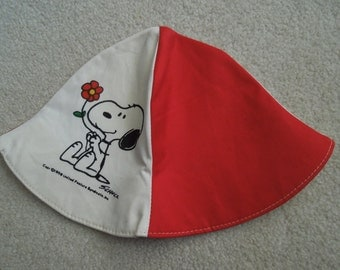 80s Snoopy and Woodstock Hat
