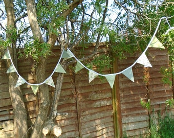 Small Handmade Bunting - Personalised Colour Scheme