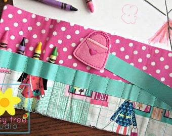 Crayon Holder, Crayon Roll, Crayon Caddy, Crayon Wallet, Crayon Roll Up, Crayon Keeper, Crayon Organizer, Crayon Tote, Shopping, Purse