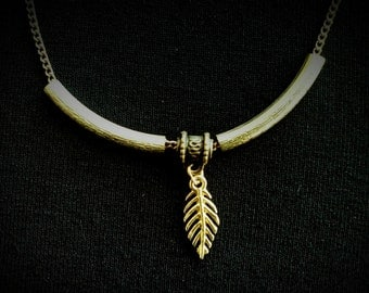 Feather Pendant Necklace FREE SHIPPING