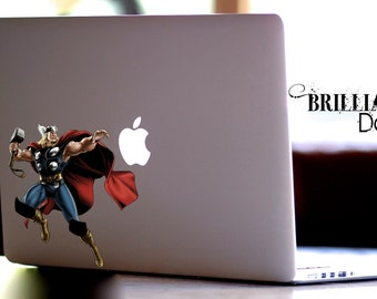 Thor, Thor Decal, Thor Sticker, Thor Macbook Decal, Thor Sticker, Thor, Skin, MacBook Pro Decal, Marvel Comics Decal, Avengers, The Avengers