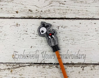 Deer Skellie Pencil Toppers - Classroom Prizes - Party Favor - Skeleton - Party Supplies - Small Gift - Back to School