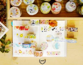 Liang Feng Vol.1 washi tape