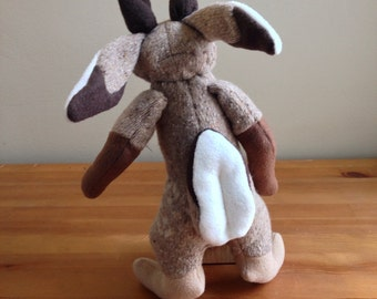 Desert Jackalope Plush MADE TO ORDER