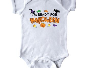 I'm Ready for Halloween Infant Creeper by Inktastic