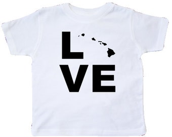 Love Hawaii Toddler T-Shirt by inktastic