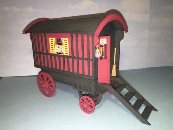 Gypsy Caravan 1 12th Scale Kit Dolls House One Inch Scale Kit