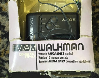 Sony walkman- 1989