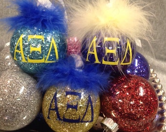 Alpha Xi Delta  sorority ornament