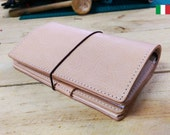 Veg. Tanned Italian Leather-Textured or Smooth